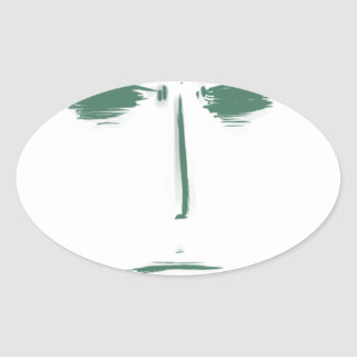 tufuface colcomanias de óval personalizadas