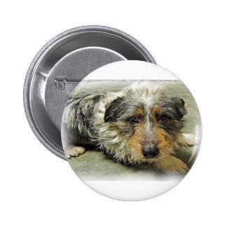Tug at Heart Corgi Terrier Mix Dog Pins