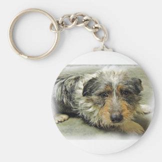 Tug at Heart Corgi Terrier Mix Dog Key Chains