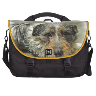 Tug at Heart Corgi Terrier Mix Dog Bag For Laptop