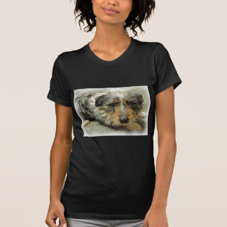Tug at Heart Corgi Terrier Mix Dog T Shirts