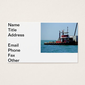Tug at Work Business Card
