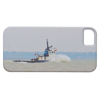 Tug Boat Battling Wind And Tide iPhone SE/5/5s Case