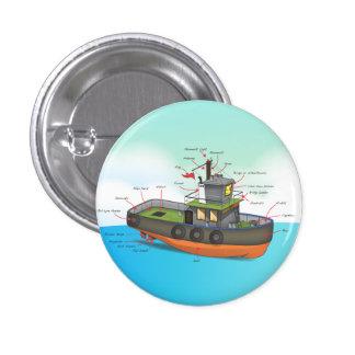 Tug Boat Pins