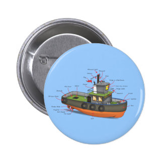 Tug Boat Buttons