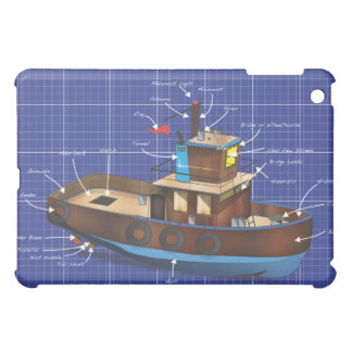 Tug Boat Case For The iPad Mini