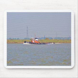 Tug Boat GPS Iberia Mouse Pad
