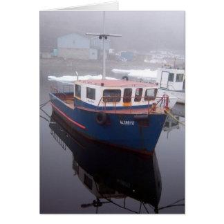 Tug Boat Greeting Card