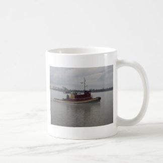 Tug Boat in the Fog Coffee Mug