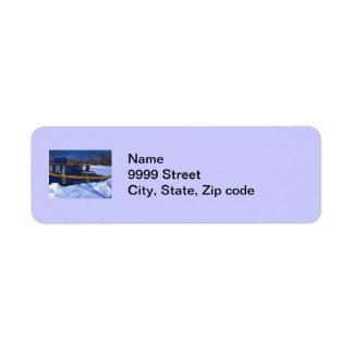Tug Boat Label