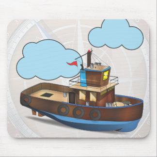 Tug Boat Mouse Pad