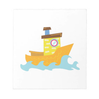Tug Boat Note Pads