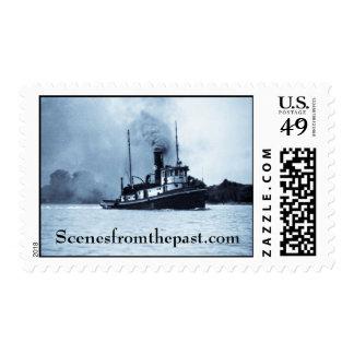 Tug Boat Postage Stamp