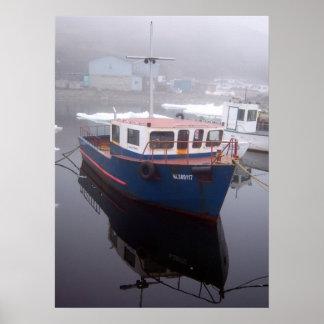 Tug Boat Poster