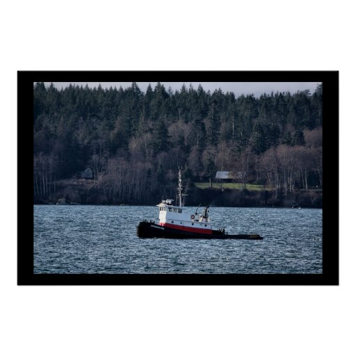 Tug Boat Posters
