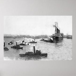 Tug Flotilla Poster