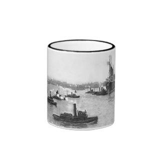 Tug Flotilla Ringer Mug
