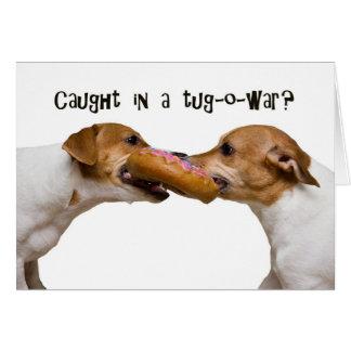 Tug-o-War Card