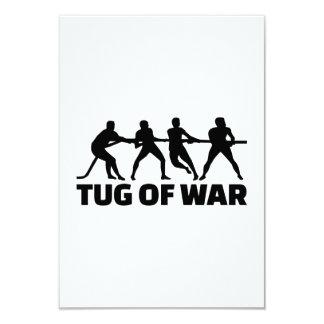 Tug of war card