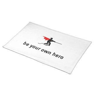 Tug Of War Hero Cloth Placemat