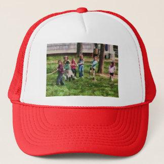 - Tug of War Trucker Hat