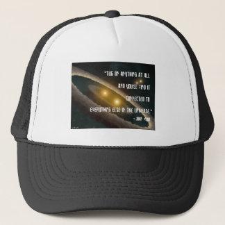Tug on anything trucker hat