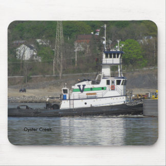 Tug Oyster Creek Mouse Pad