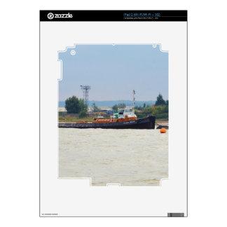 Tug Silver Beam Decal For iPad 2