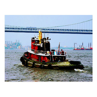Tugboat at Penn s Land Philadelphia PA Post Cards