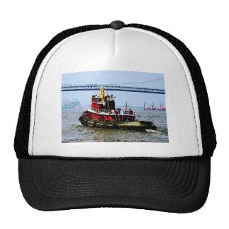 Tugboat at Penn's Land Philadelphia, PA Trucker Hat