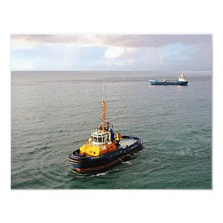 Tugboat Barbados II Card