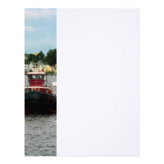 Tugboat Bow Norfolk VA Letterhead