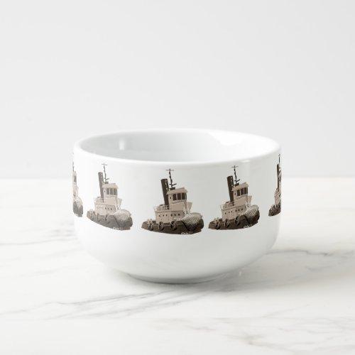 tugboat chase soup mug