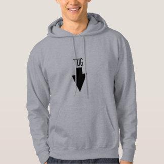 Tugboat location arrow hoodie