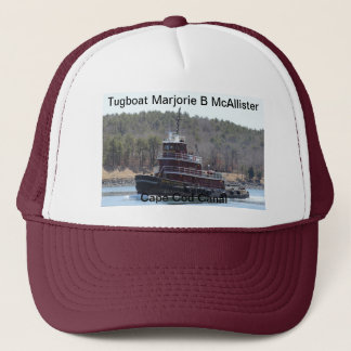 Tugboat Marjorie B McAllister Cape Cod Canal Hat