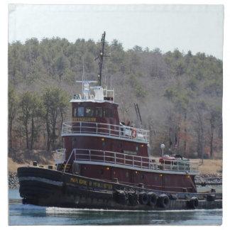 Tugboat Marjorie B McAllister Cape Cod Napkin Set