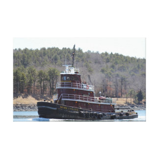 Tugboat Marjorie B. McAllister on Cape Cod Canvas