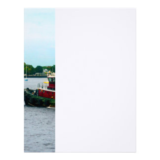 Tugboat Norfolk VA Letterhead