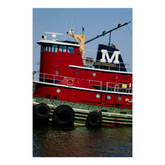 Tugboat Poster