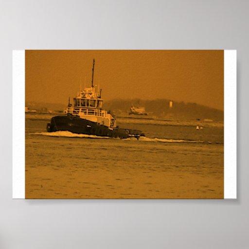 Tugboat Poster