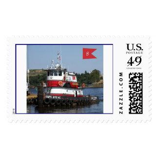 Tugboat Stamp