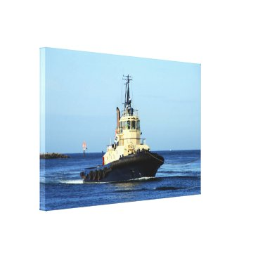 franwestphotography Tugboat Tingari, Australia Canvas Print
