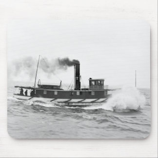 Tugboat William Sprague, late 1800s Mouse Pad