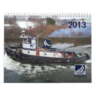 Tugboats and Cargo of NYS Marine Highway Calendar