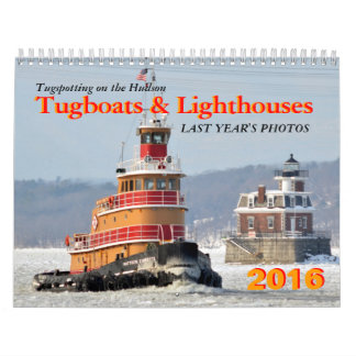Tugboats and Lighthouses Calendar