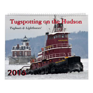 Tugboats & Lighthouses Calendar