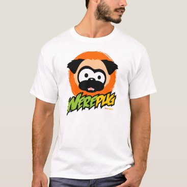 Halloween Themed Tugg the WerePug White T-Shirt