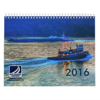 Tugs and Barges of NYS Marine Highway 2016 Calendar