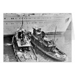 Tugs Assist Caronia Stationery Note Card