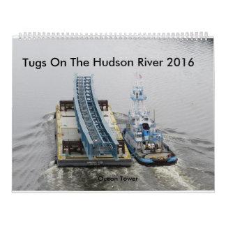 Tugs On The Hudson River 2016 Calendar